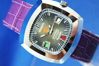 Gents Vintage Astromatic Aquarius Star Sign Automatic Watch 1970s Swiss