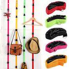 8 Clips - Baseball Cap Hat Holder Rack Organizer Storage Door Closet Hanger