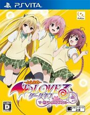 To Love-Ru Trouble: Darkness Battle Ecstasy (Sony PlayStation Vita, 2014) - Japanese Version