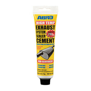 Details about Abro Exhaust System Silencer Pipe Sealer Cement Repair Putty  Paste 170g