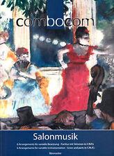 Combocom salonmusik foglio spartito musicale e parti in C BB & EB barenreiter ba7666