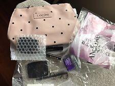 Lancome 9 pieces Travel Size Set - Eye Shadow; Renergie Cream, Cosmetic Bag
