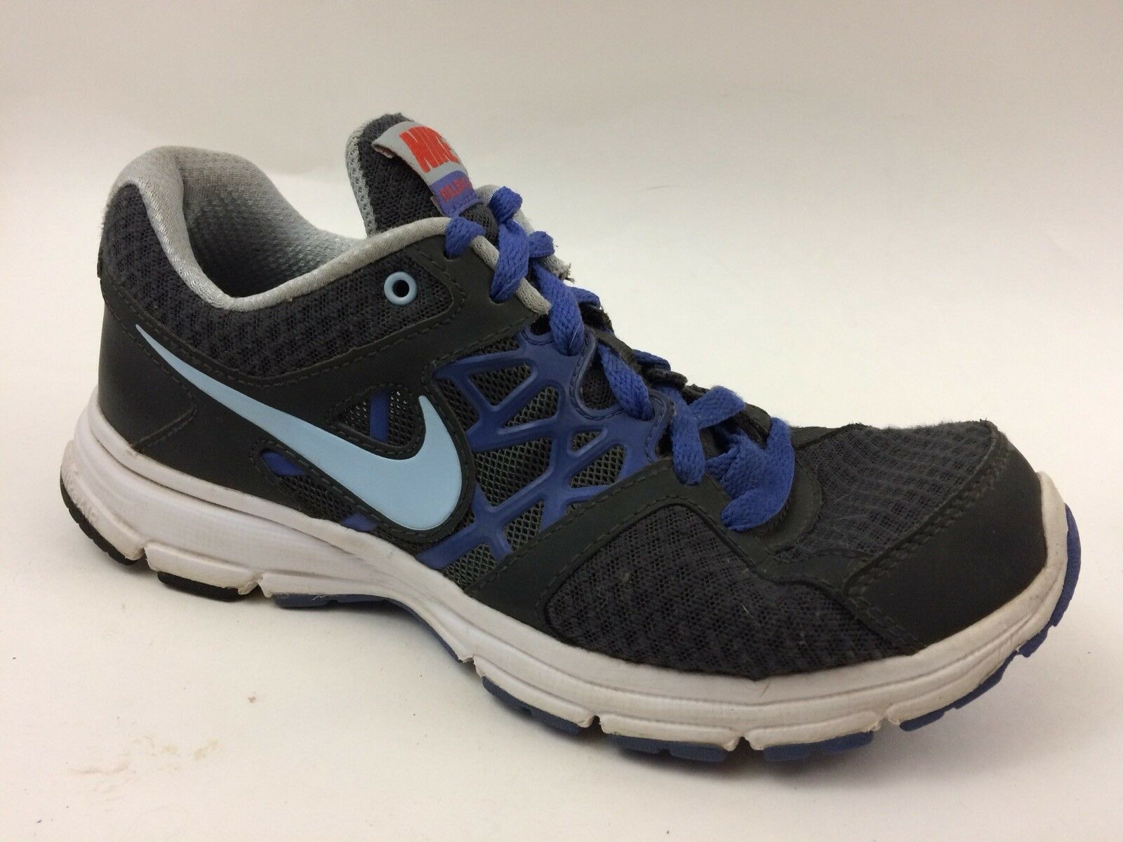 NIKE Womens 8.5 Med AIR RELENTLESS 2 Running Shoes 512083 013 Blue Gray Sneakers