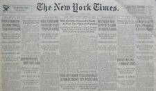 3-1935 March 3 BRITAIN PROPOSES CHINA LOAN. GREEK FLIERS BOMB INSURGENTS 80th