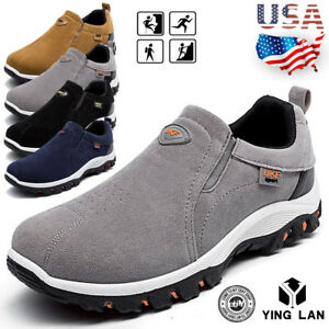 Men-039-s-Outdoor-Hiking-Shoes-Breathable-Athletic-Casual-Sports-Sneakers-SIZE-7-8-9