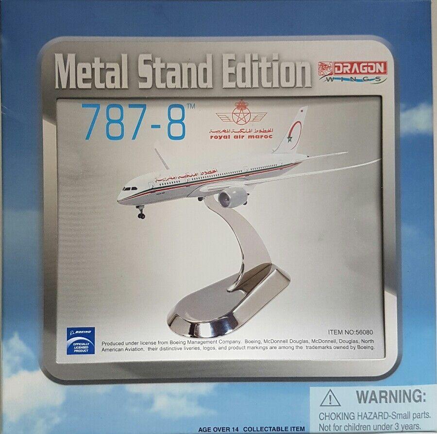 Dragon Wings Royal Air Maroc 787-8 Metal Stand Edition 1 400