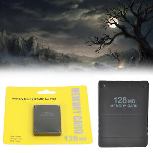 128MB Megabyte Carte M¨¦moire pour Sony PS2 PlayStation 2 Slim Game Data Console
