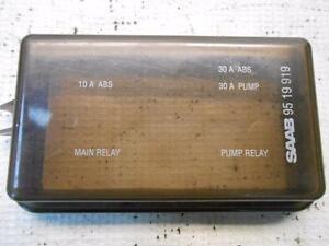 saab 95 fuse box location 1994 saab 9000 cs turbo 94 small abs fuse box cover lid ... #7