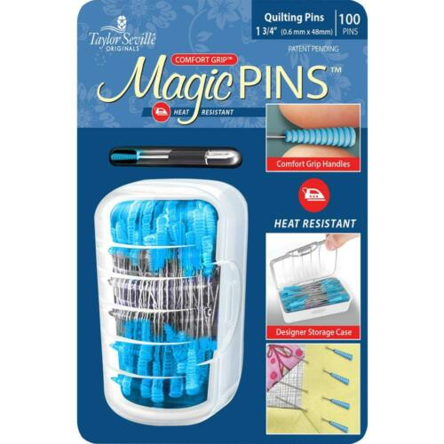 Taylor Seville Magic Pins Quilting Fine 100pins 217139