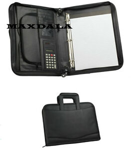 Briefcase With Ring Binder