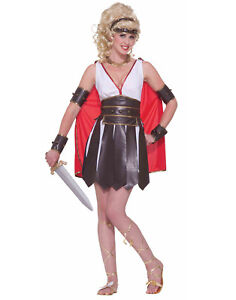 Sexy Gladiator Womens Adult Greek Roman Spartan Halloween Costume Ebay