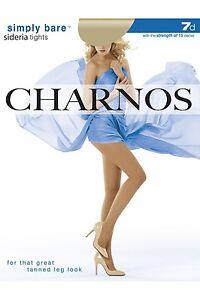 c0581e85c3c Image is loading Charnos-Simply-Bare-Sideria-Tights-7-Denier-Nude-