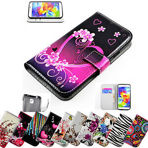 Wallet-Flip-Leather-Phone-Case-Cover-For-Samsung-Galaxy-S6-Edge-Note-5-4-3-S5-S4