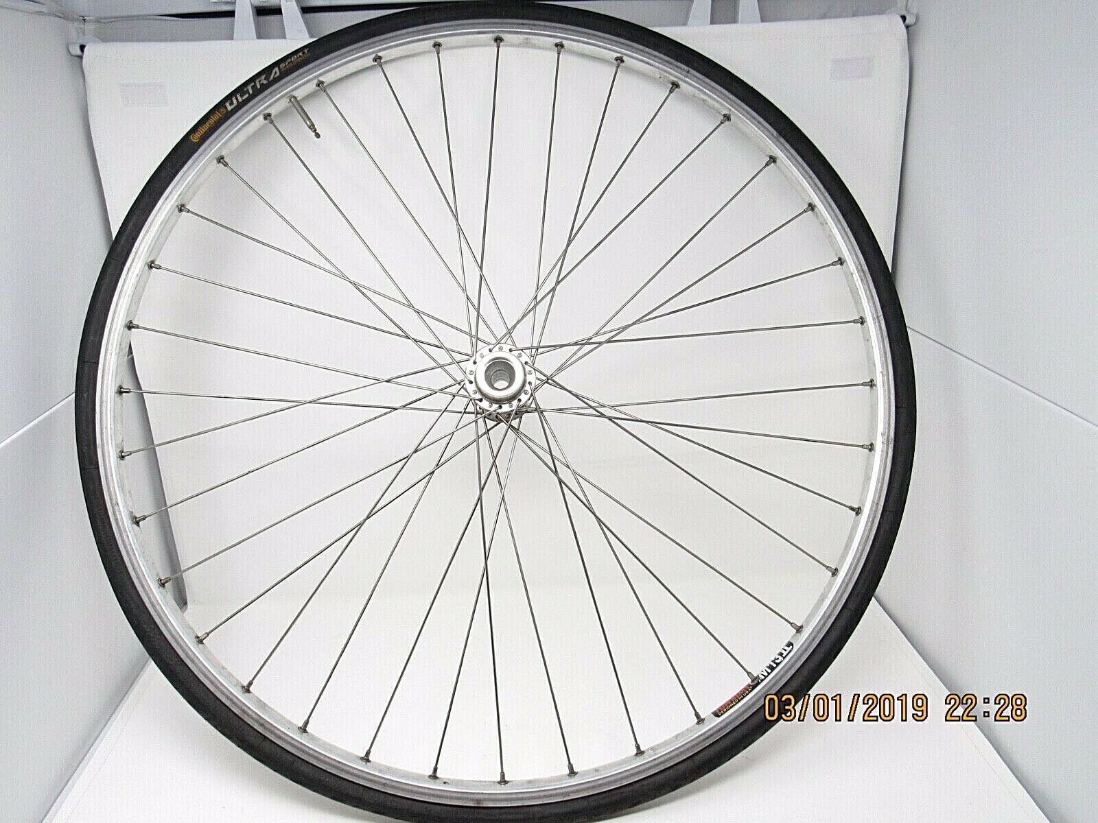 Vintage Peugeot Reynolds 501 Rim M13II 622 x 18mm Bike Wheel Rim Tire 26  Rear