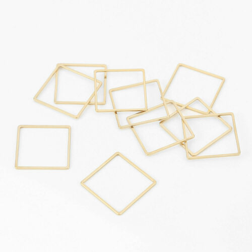 30pcs Stainless Steel Gold//Silver Germetric Connectors DIY Jewelry Findings