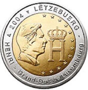 LUXEMBURG-SPECIALE-2-EURO-2004-UNC-034-MONOGRAM-HENRI-034