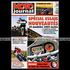 MOTO JOURNAL N°1661 YAMAHA MT01 FJR 1300 HONDA ST PAN EUROPEAN 24 H DU MANS 2005