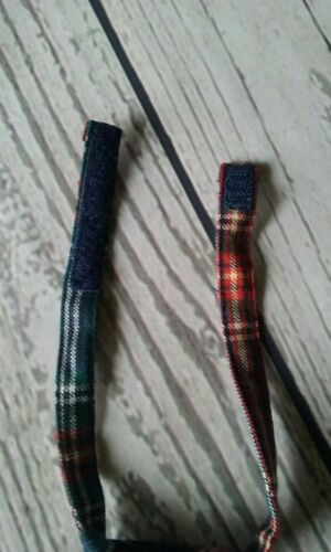 Janie /& Jack Boy/'s  Neck Tie Red Navy Blue green plaid Holiday  Size Up to 3 //