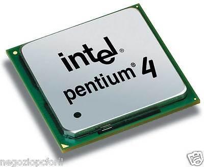 Dinamico Processore Socket 478 Intel Pentium 4 _ 2.4 Ghz / 512 / 533