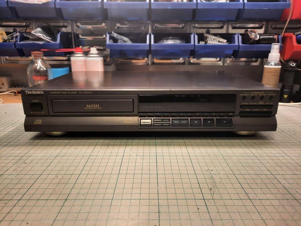 CD afspiller, Technics, SL-PG340A