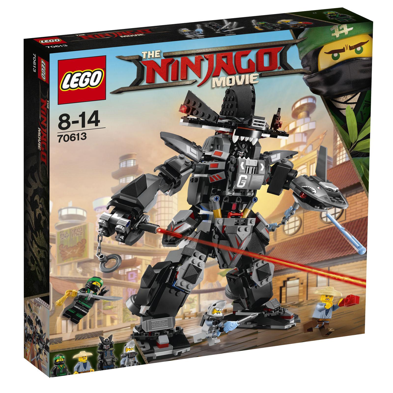LEGO NINJAGO Garmadon's Robo-Hai (70613) Neu OVP alle alle alle Siegel unberührt 183fbd