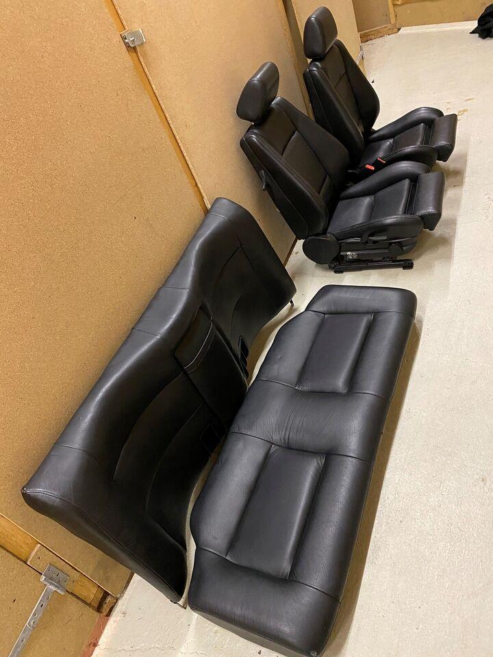 Sæde og seler, M-tech 2 kabine, 2 dørs