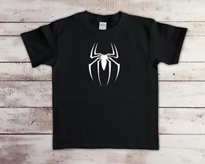 Funny Spider Man Inspired Children's Kids T-Shirt Birthday Top Gift Gaming Tee