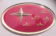 Subaru Impreza Pink STI Grille Badge Emblem Grill 1993-2000
