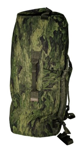 Military Army Navy Style Heavy Duty Double Strap Duffle Duffel Bag Pack