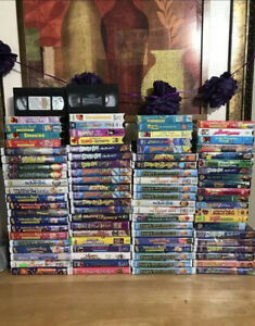 Vhs-Movies-Winnie-Pooh-muppets-Scooby-Doo-Lot-Of-10-you-Choose