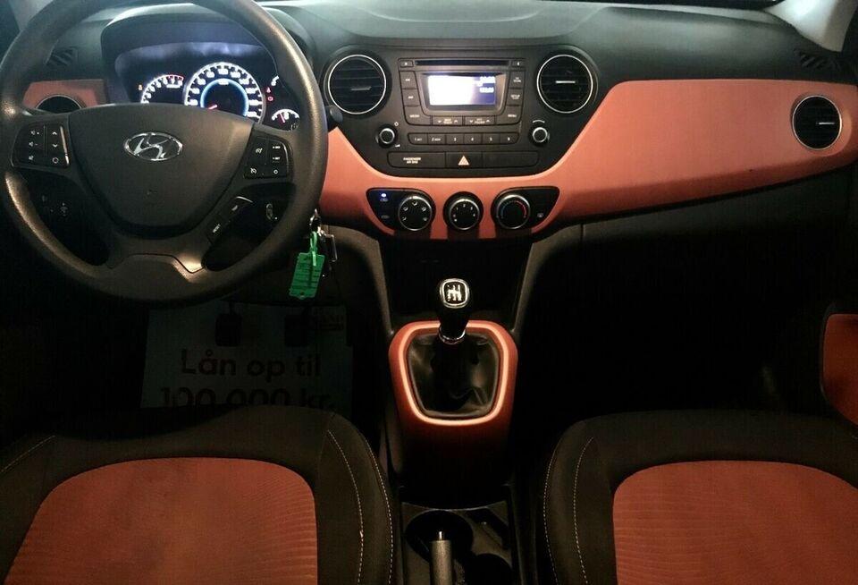 Hyundai i10 1,0 Comfort Air Benzin modelår 2014 km 65000 ABS