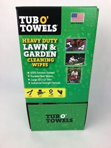 Heavy-Duty-10-034-X-12-034-Lawn-And-Garden-Cleaning-Wipes-Individual-Wrap-100-Count