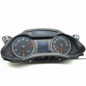 Audi-A4-8K-B8-Benzin-Km-H-Tachometer-Kombiinstrument-Tachometer-8K0920930A