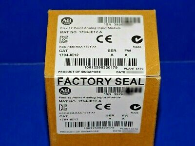 New Seal Allen-Bradley 1794-IE8 Flex 8 Point Analog Input