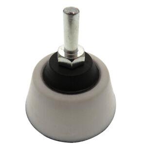 Polierteller-50-mm-Schleifteller-Stuetzteller-Klett-Winkelschleifer-Gewinde-M6