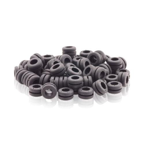 10,0 Schwarz 50 St Durchführungstülle Innend Polychloropren Gummi 6,0 Außend