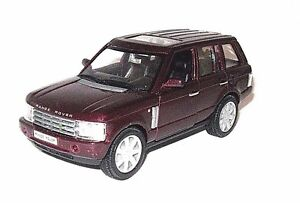 LAND-ROVER-RANGE-ROVER-BORDEAUX-WELLY-1-32-DIECAST-CAR-COLLECTOR-039-S-MODEL-NEW