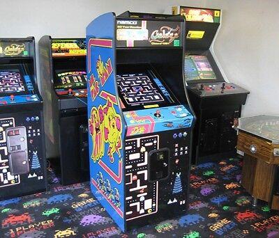 New Ms. Pac-Man / Galaga 20th Anniversary Combo Arcade ...