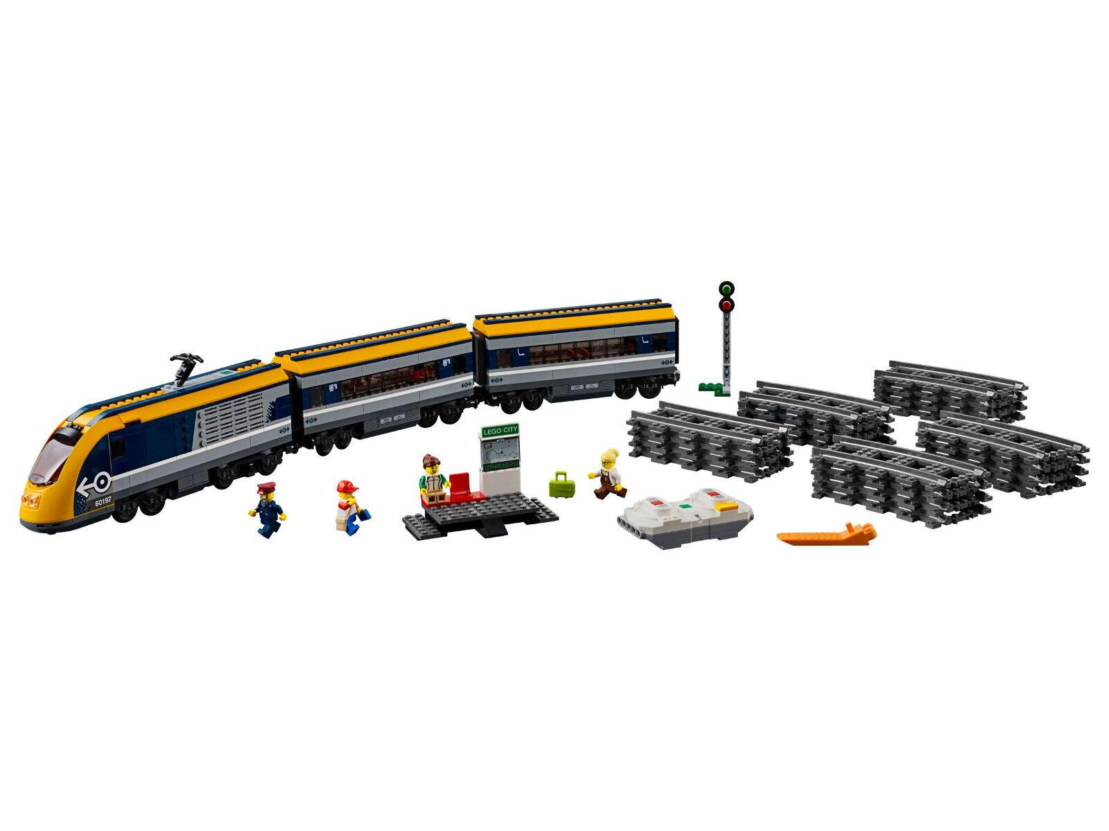 Neu LEGO LEGO LEGO 60197 City  Personenzug NEU OVP BLITZVERSAND 00407d