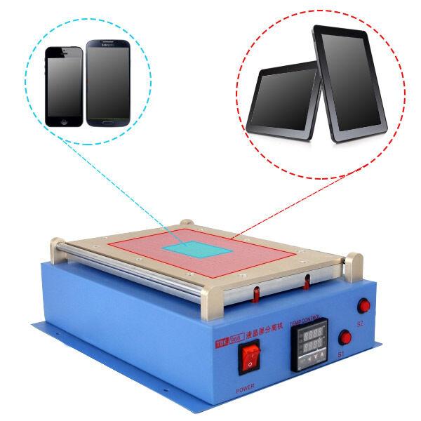"""14"""" LCD Screen Separator Built-in Vacuum Repair Machine for Cell Phone & Tablet"""