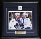 Doug Gilmour & Wendel Clark Toronto Maple Leafs 8x10 frame