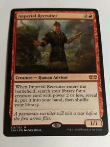 Magic the Gathering Imperial Recruiter Double Masters **NM**