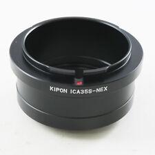 Kipon Icarex 35S ICA 35 Lens to Sony NEX E Mount Adapter A7 A7R A6500 NEX-7 5T 6