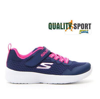 Details zu Skechers Dynamight Blau Fuchsie Schuhe Mädchen Sport Turnschuhe 81303L Nvy