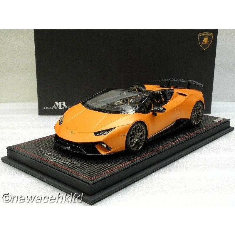 Lamborghini Huracan Performante Spyder MR COLLECTION 1/18  LAMBO030B