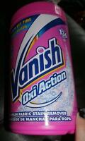 Vanish Oxi Action In Wash Fabric Stain Remover 47.6 Oz Powder 136 Uses