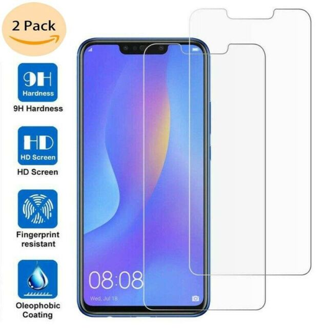 For Huawei P Smart Honor 10 Lite / 8X Clear Tempered Glass Screen Protector SQ