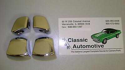 Seat Knob Kit 4pc 67-69 Camaro Firebird Buckets *In Stock chrome plated 67 68 69