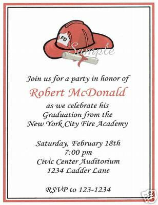 20 Custom Graduation Party Invitations