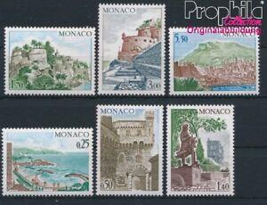 Monaco-1148-1153-postfrisch-1974-Bauwerke-8940415